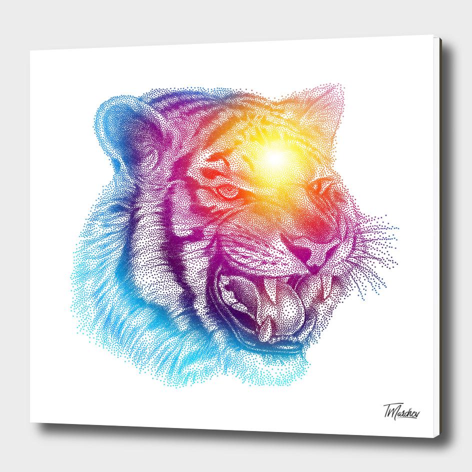 Animal III - Colorful Tiger II / NE