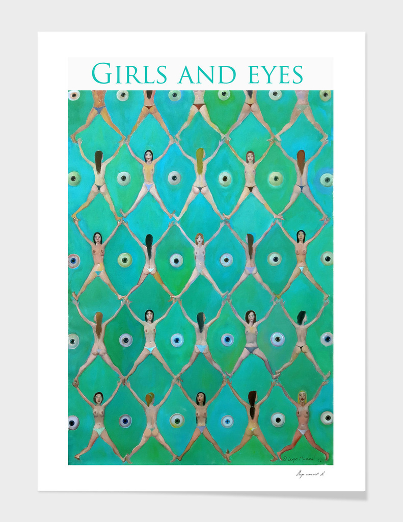 girls and eyes