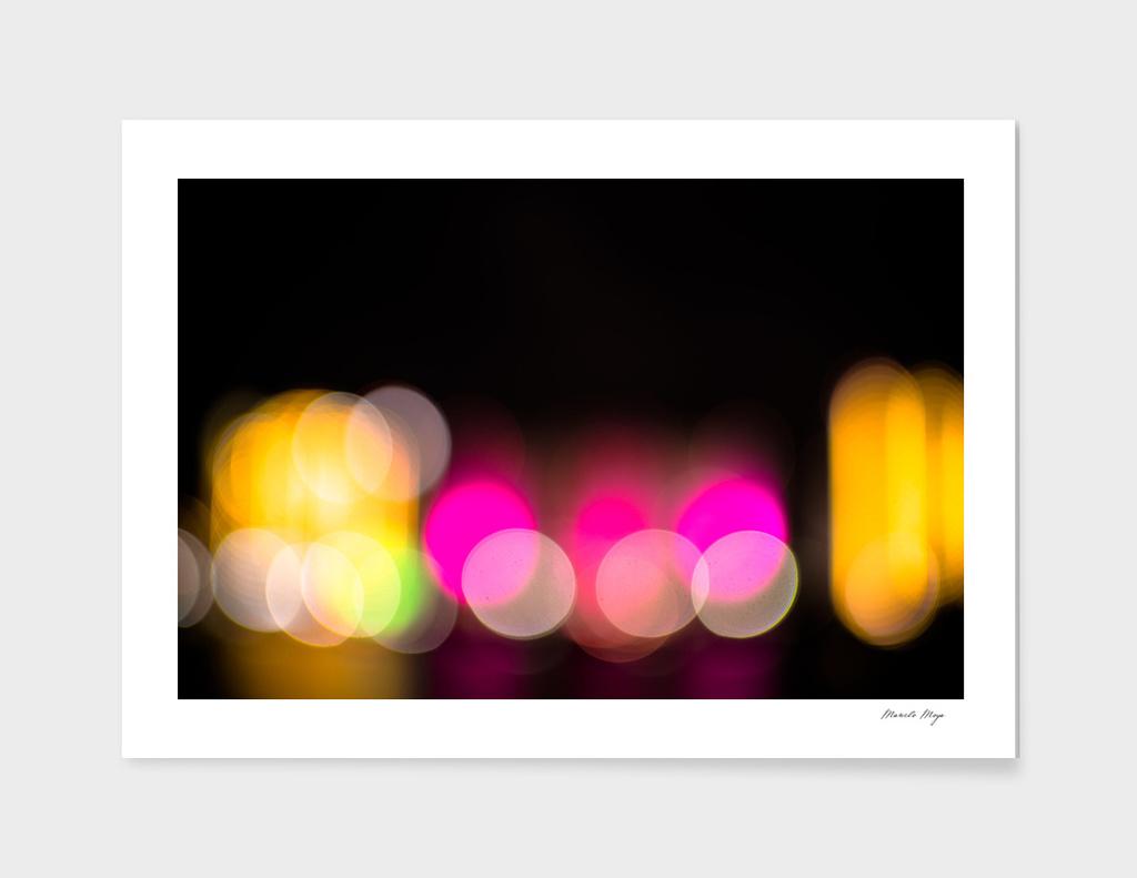 Lights on Bokeh