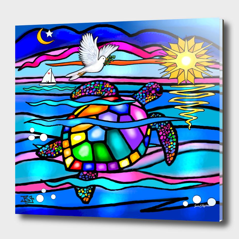 Sea Turtle Twilight Swim