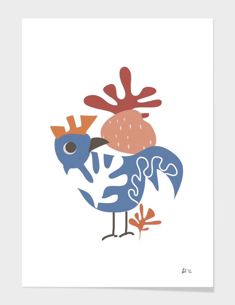 Wondering Rooster