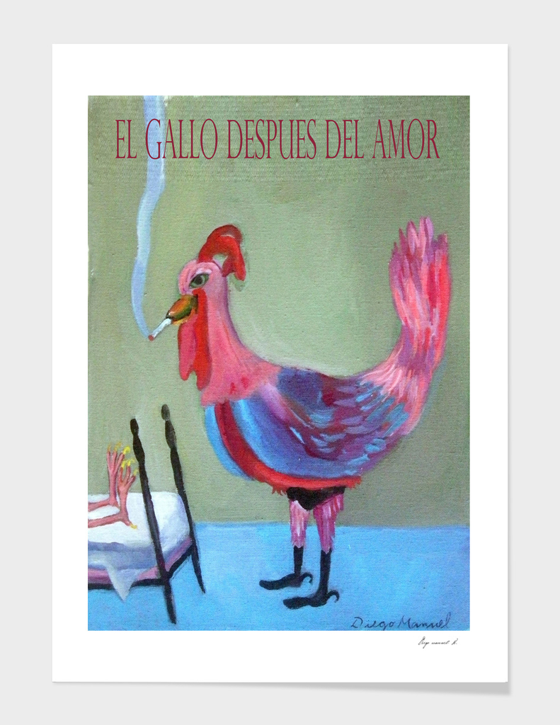 El gallo despues del amor