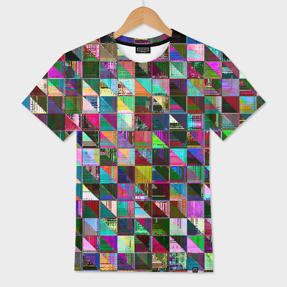 glitch color pattern