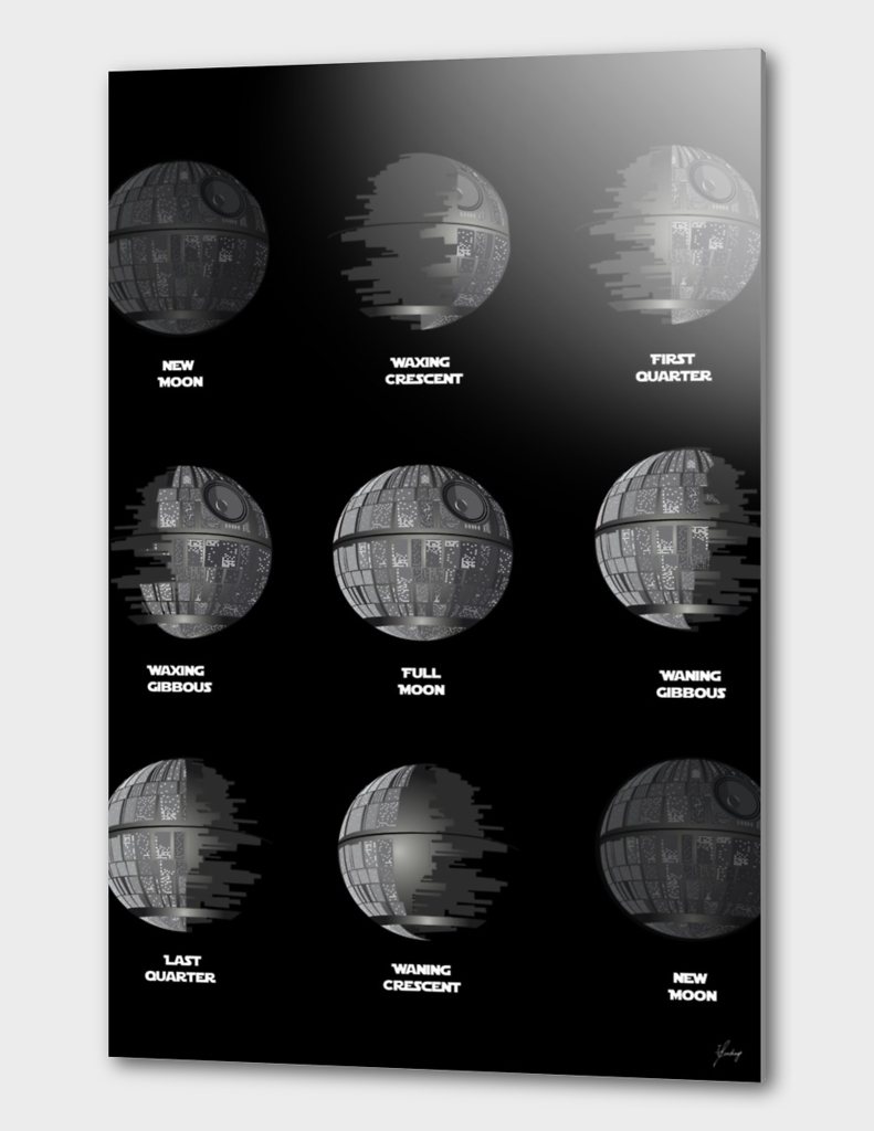 The Death Star Moon phase