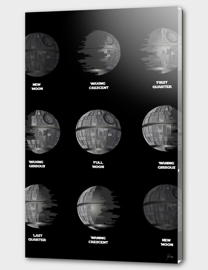 The Death Star Moon phase
