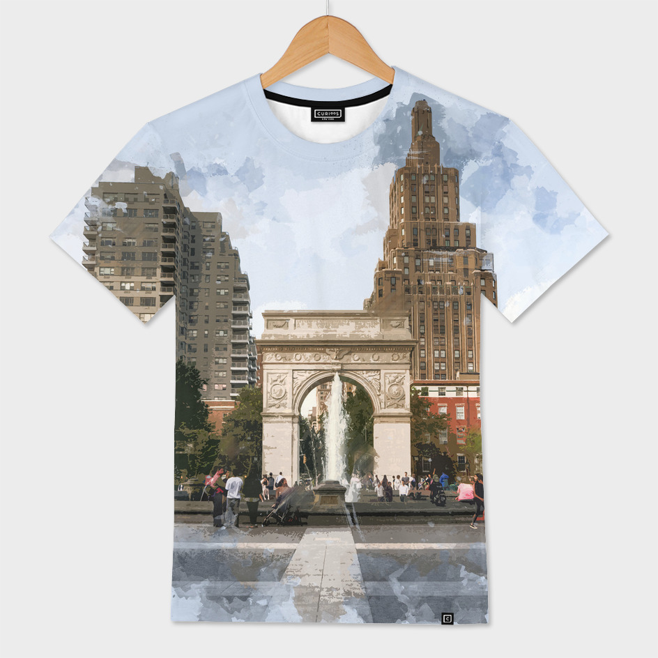 Washington Square Park Greenwich Village New York Cit