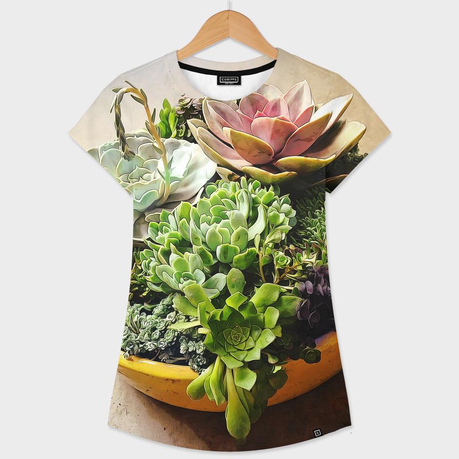 Salad Bowl of Succulents