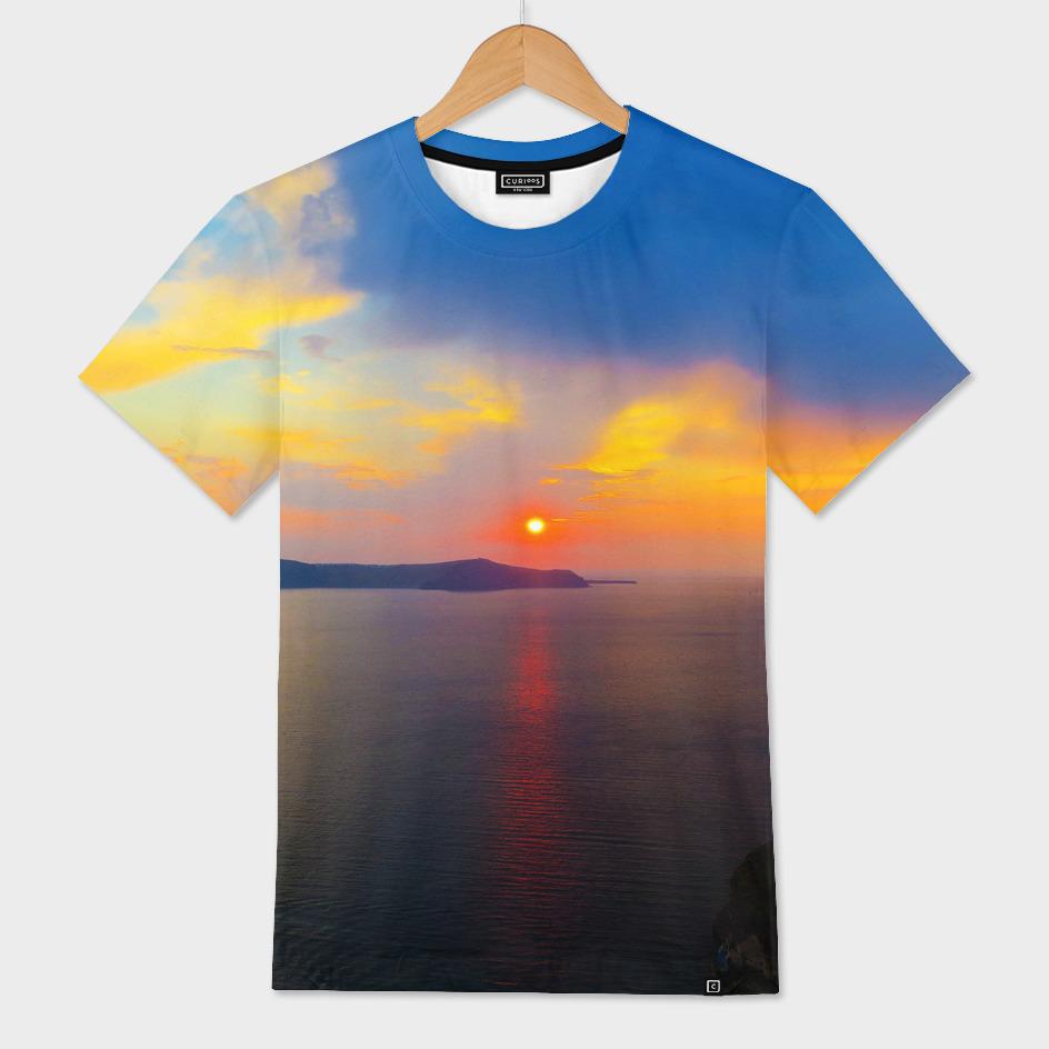 Sunset in Santorini i