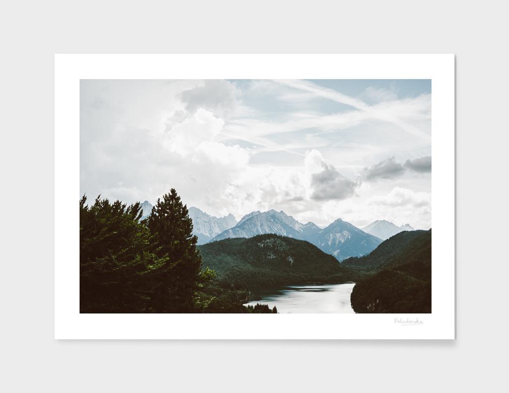Alpsee Mountain Lake