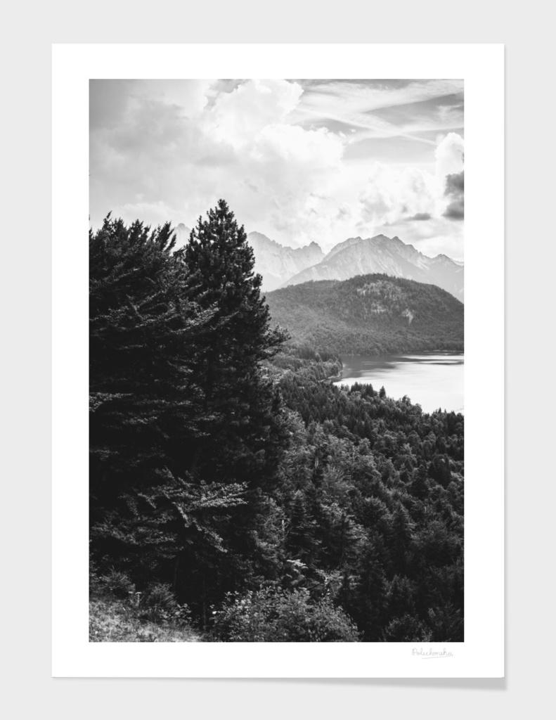 Black and White Lake