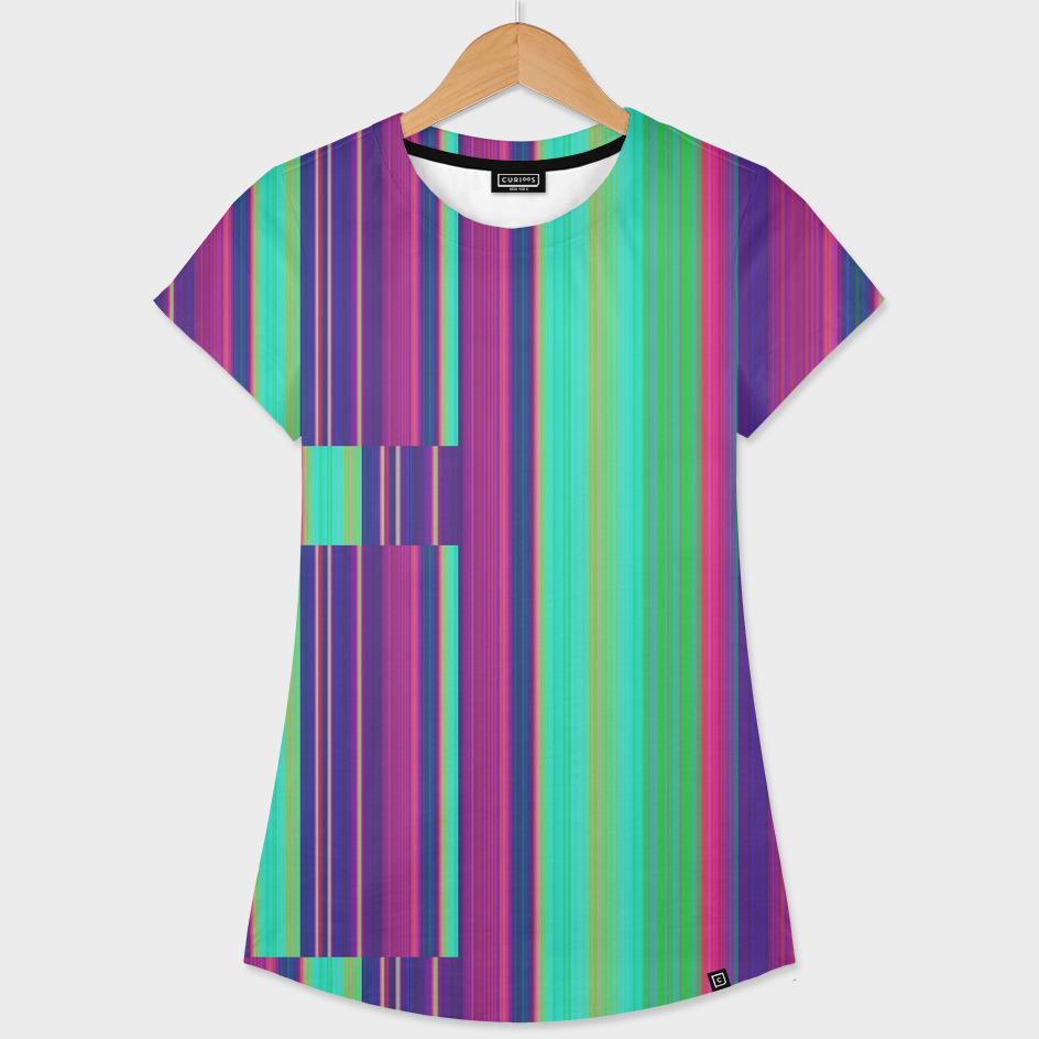 stripes - purple