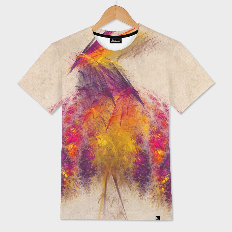 fractal bird of paradise