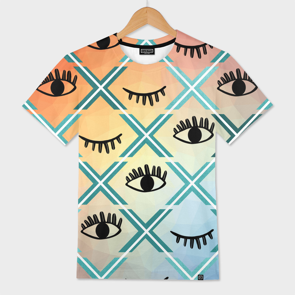 Original Colorful Eyes Design