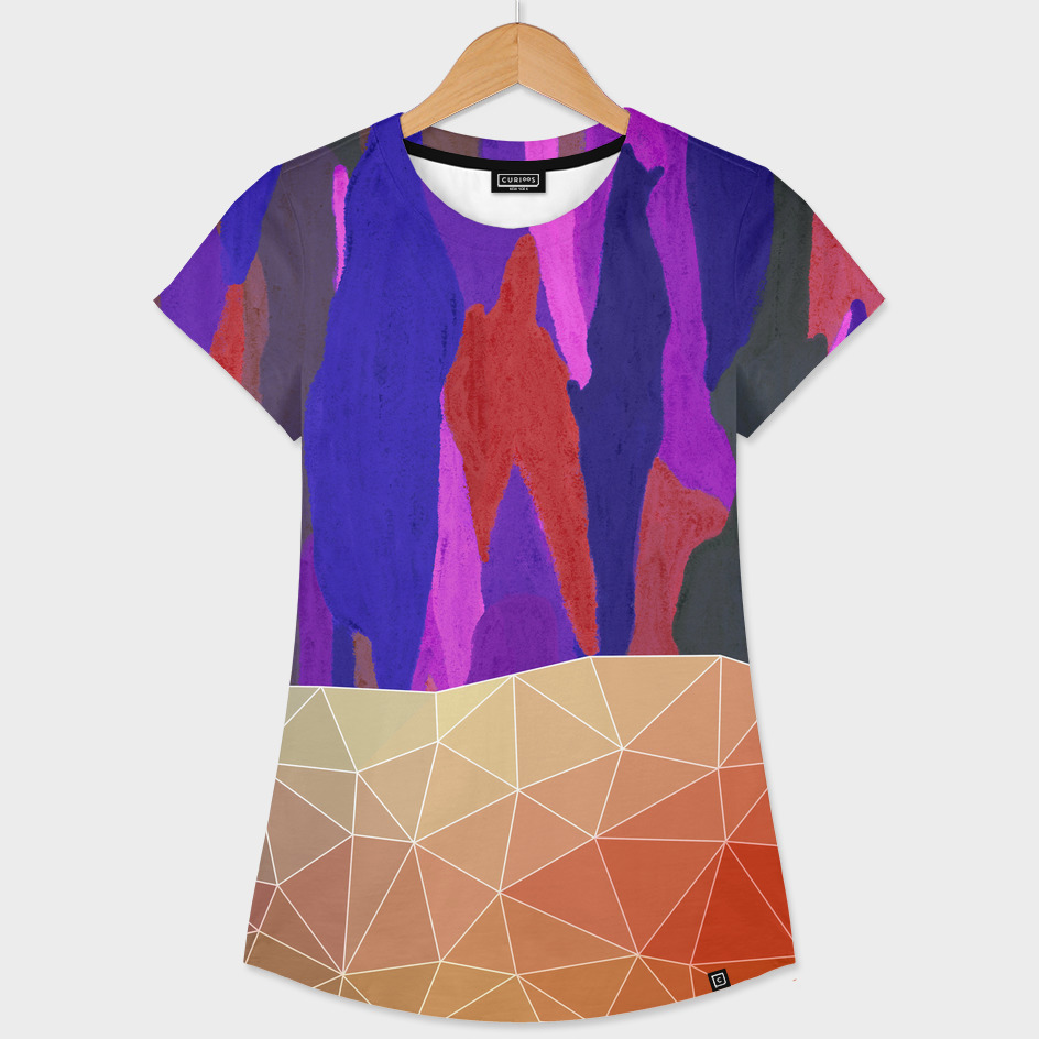 Abstract Colorful Pastel look Design