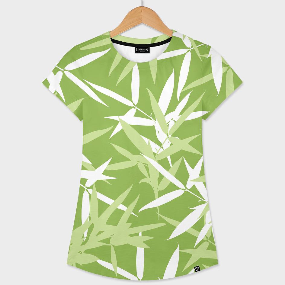 Original Green Bamboo Pattern