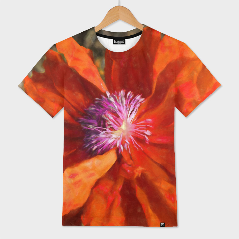 Primitive Flame Poppy