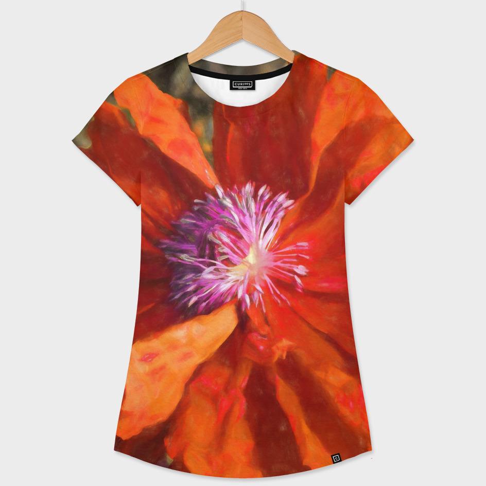 Primitive Flame Poppy