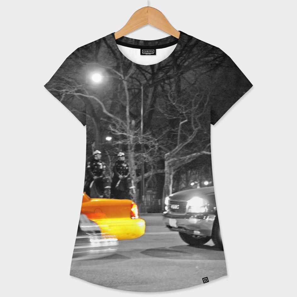 NYC - Yellow Cabs - Oscar Night