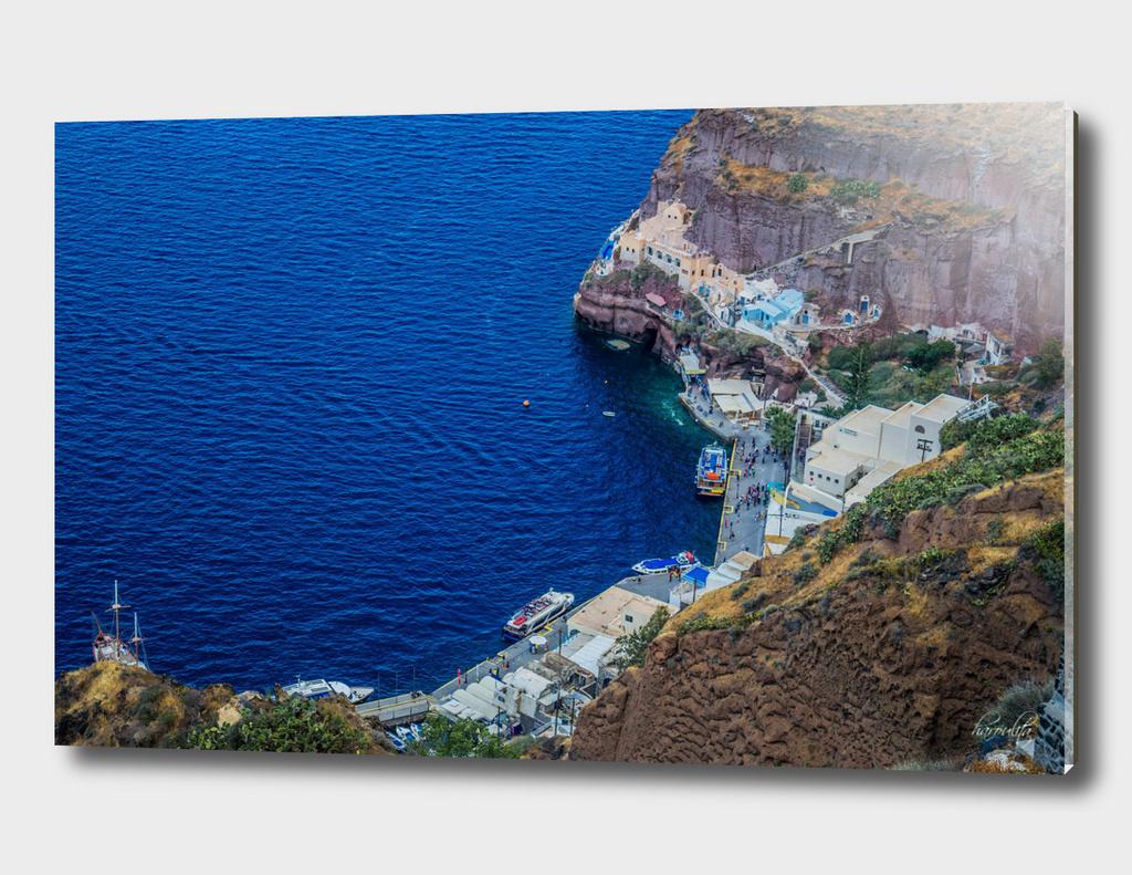 Old Port Santorini