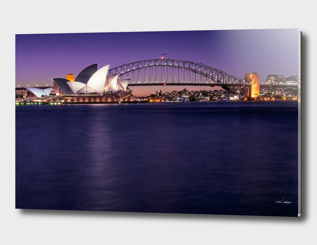Sydney Waterfront View Postcard