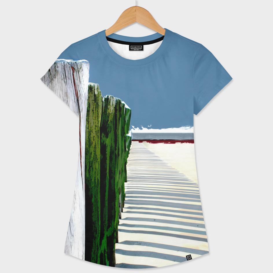 Abstract Beach Fence