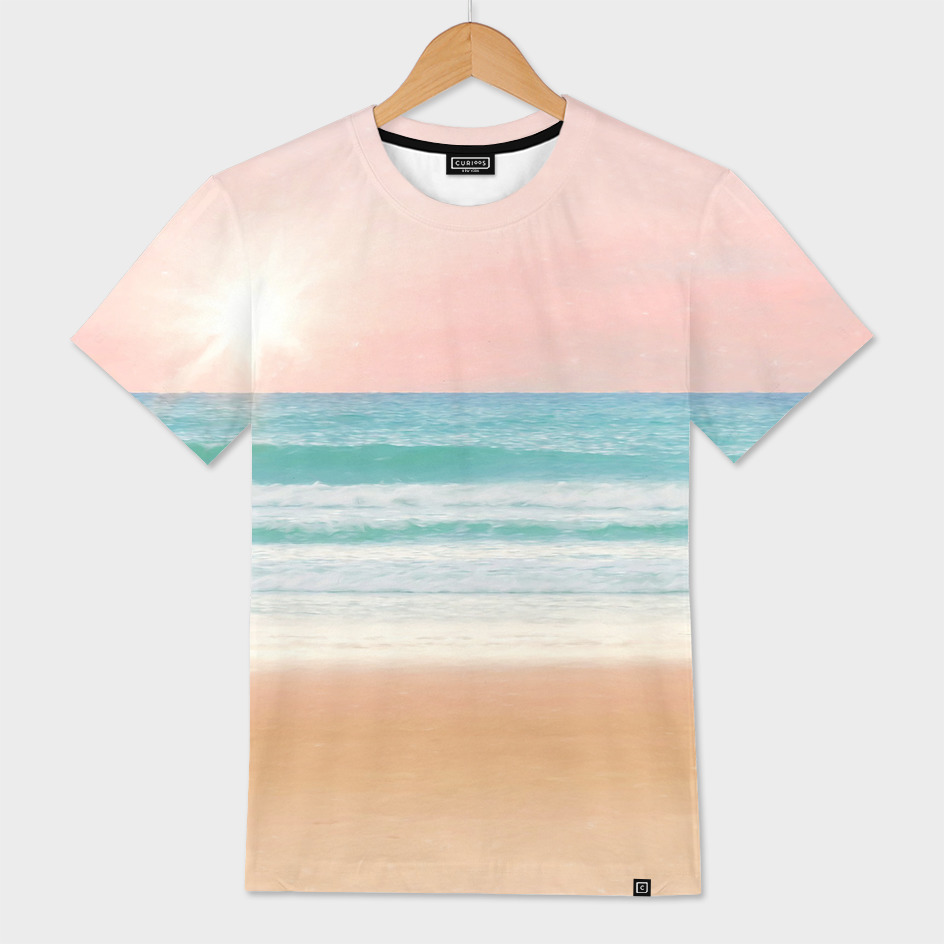 Tropical Pastel Ocean Morning