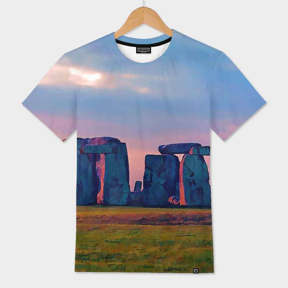Sunset Colors at Stonehenge