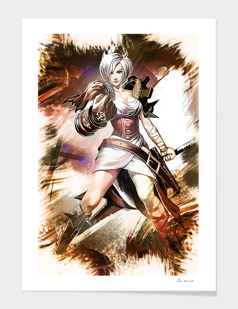 Leauge Of Legends RIVEN