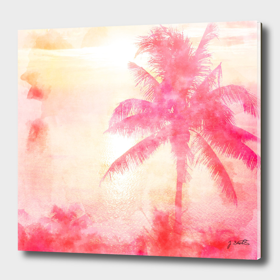 Summer Sea, Sunset at Palm Beach