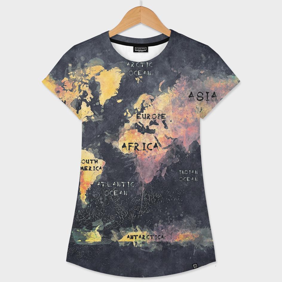world map 15