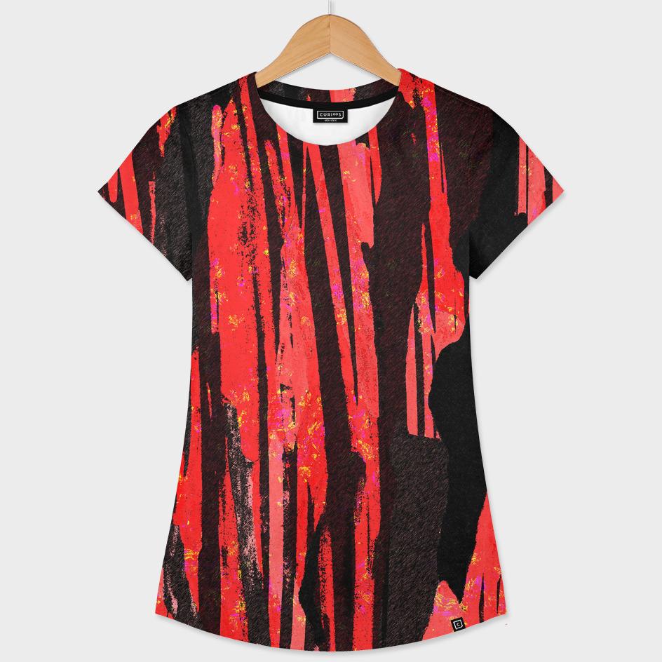 Unique Scarlet and Black Design