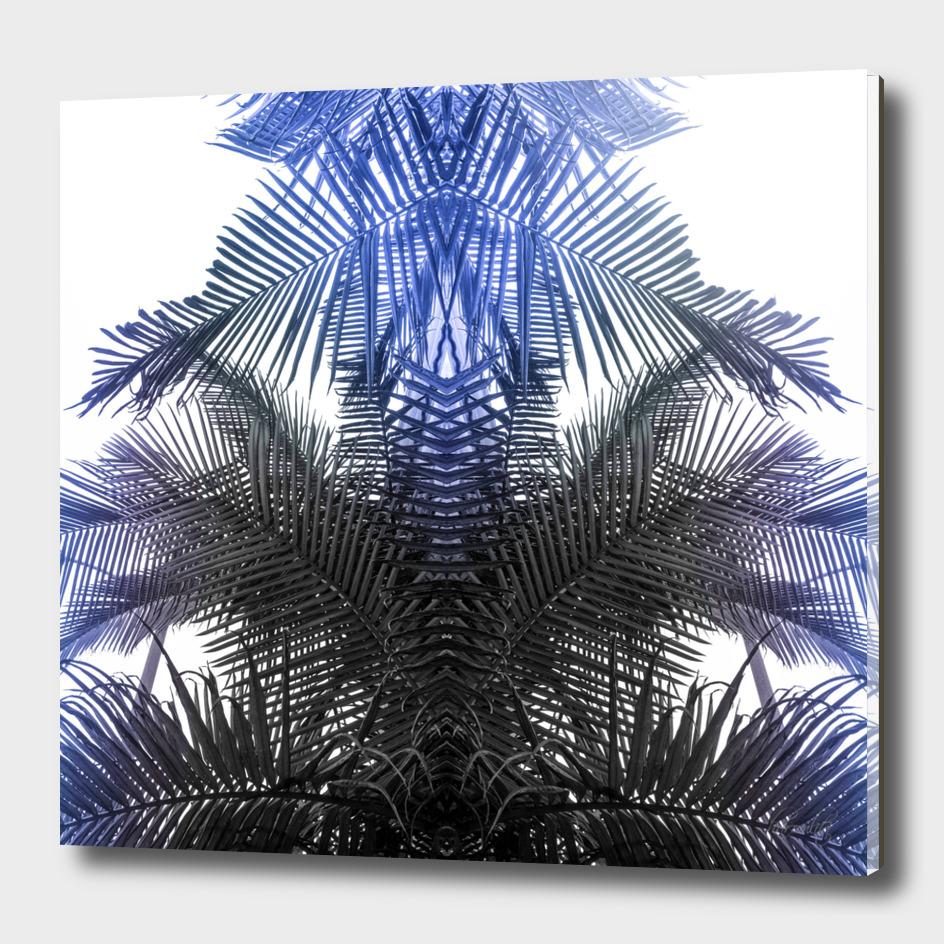 jungle fern blue