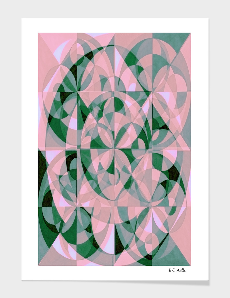 Exes & Ovals, Pink & Green, pt. 1