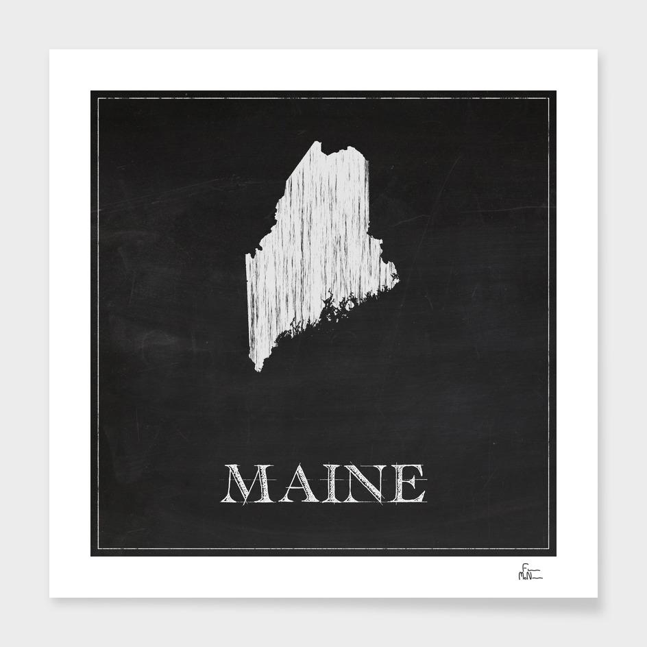 Maine - Chalk
