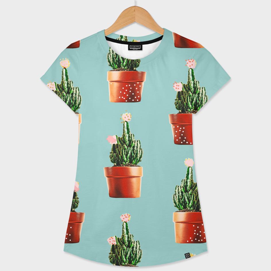 Cactus in Copper Pots