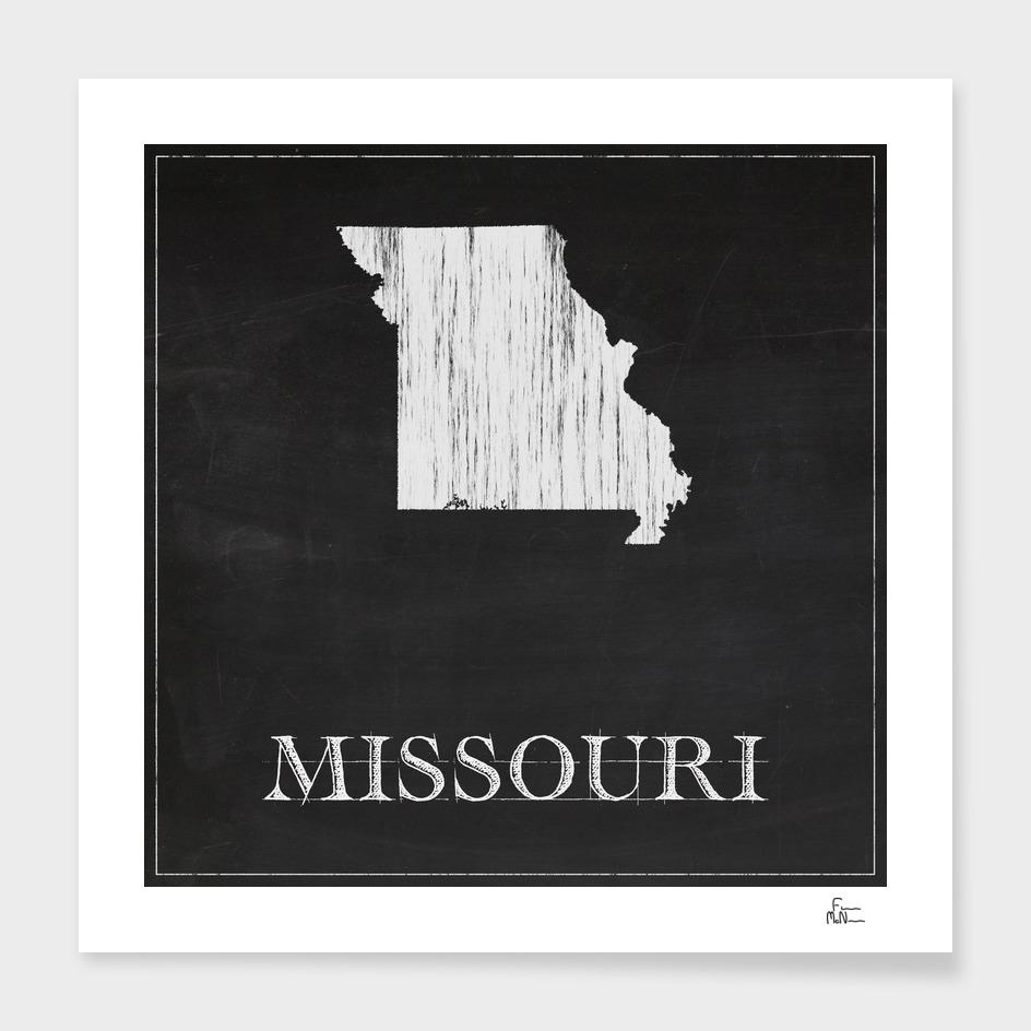 Missouri - Chalk