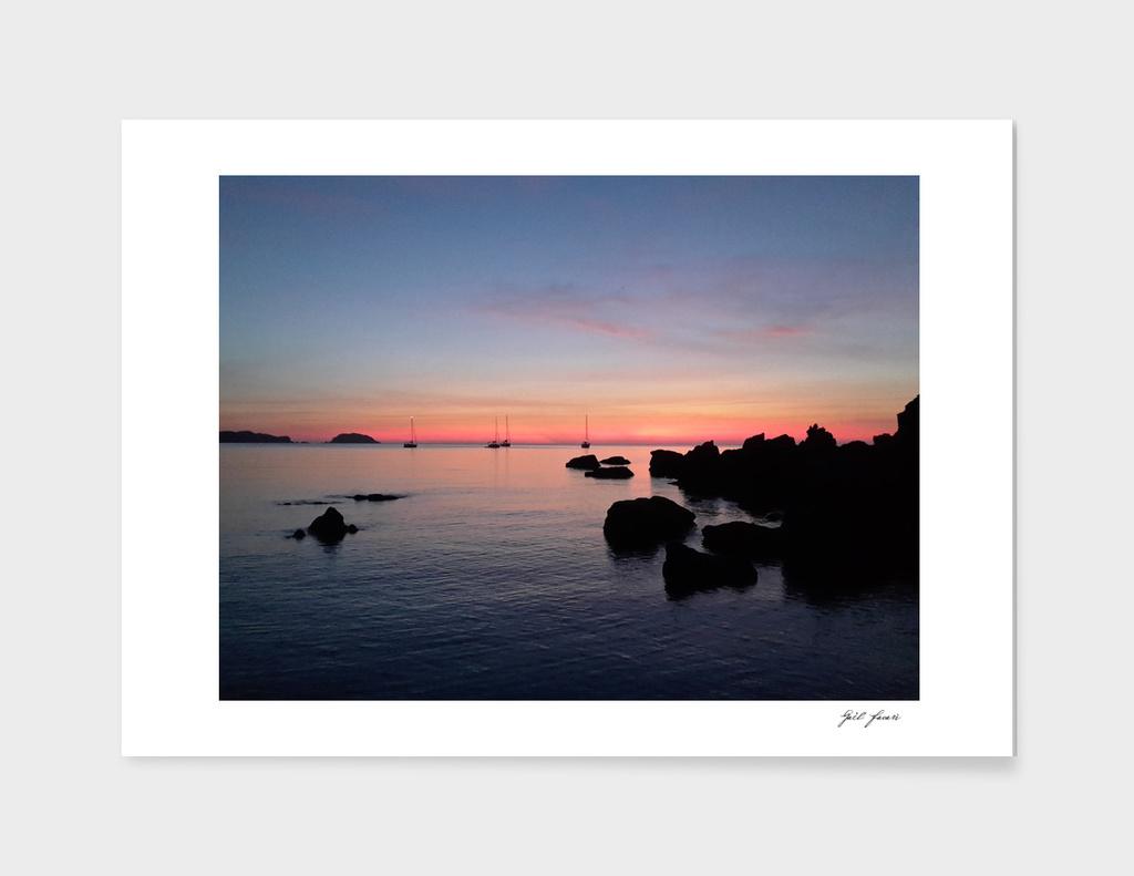 Cavalleria sunset