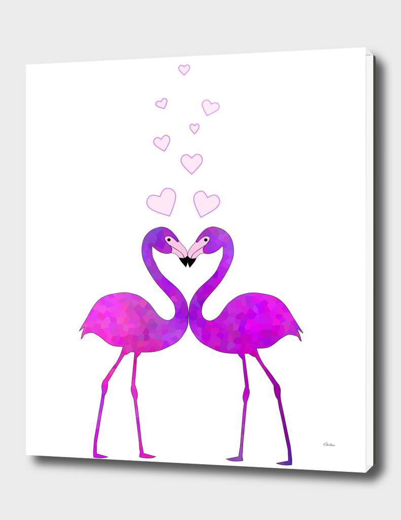 Flamingo Love Connection