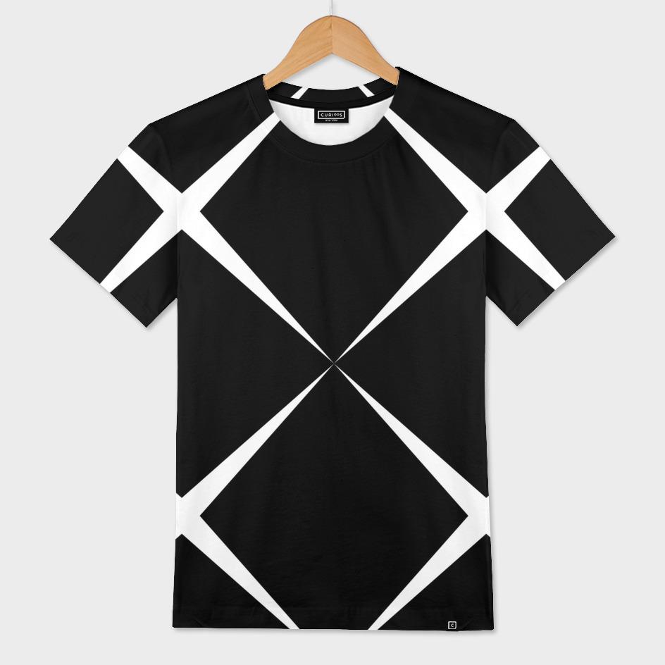 Black and White geometric