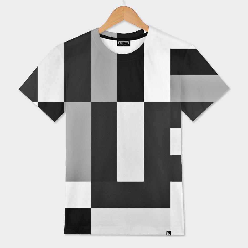 Black white and gray geometric 5