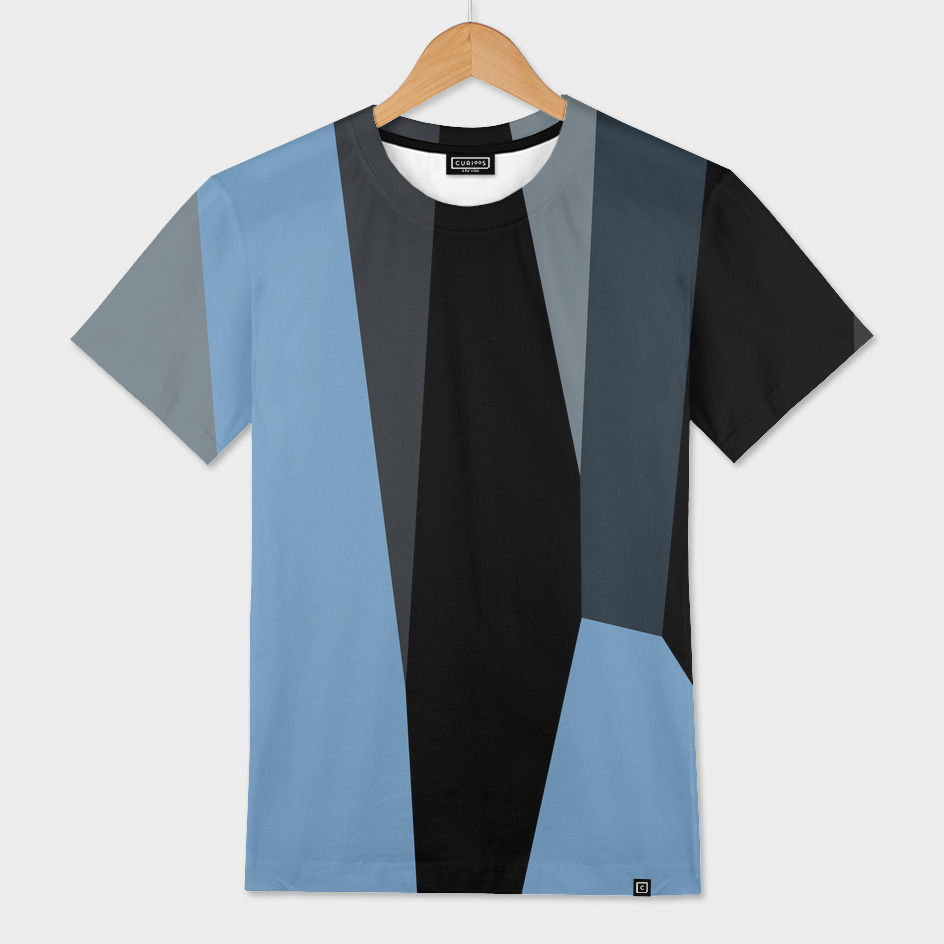 steal blue and black