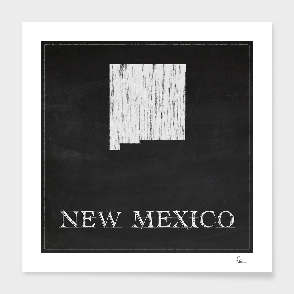 New Mexico - Chalk