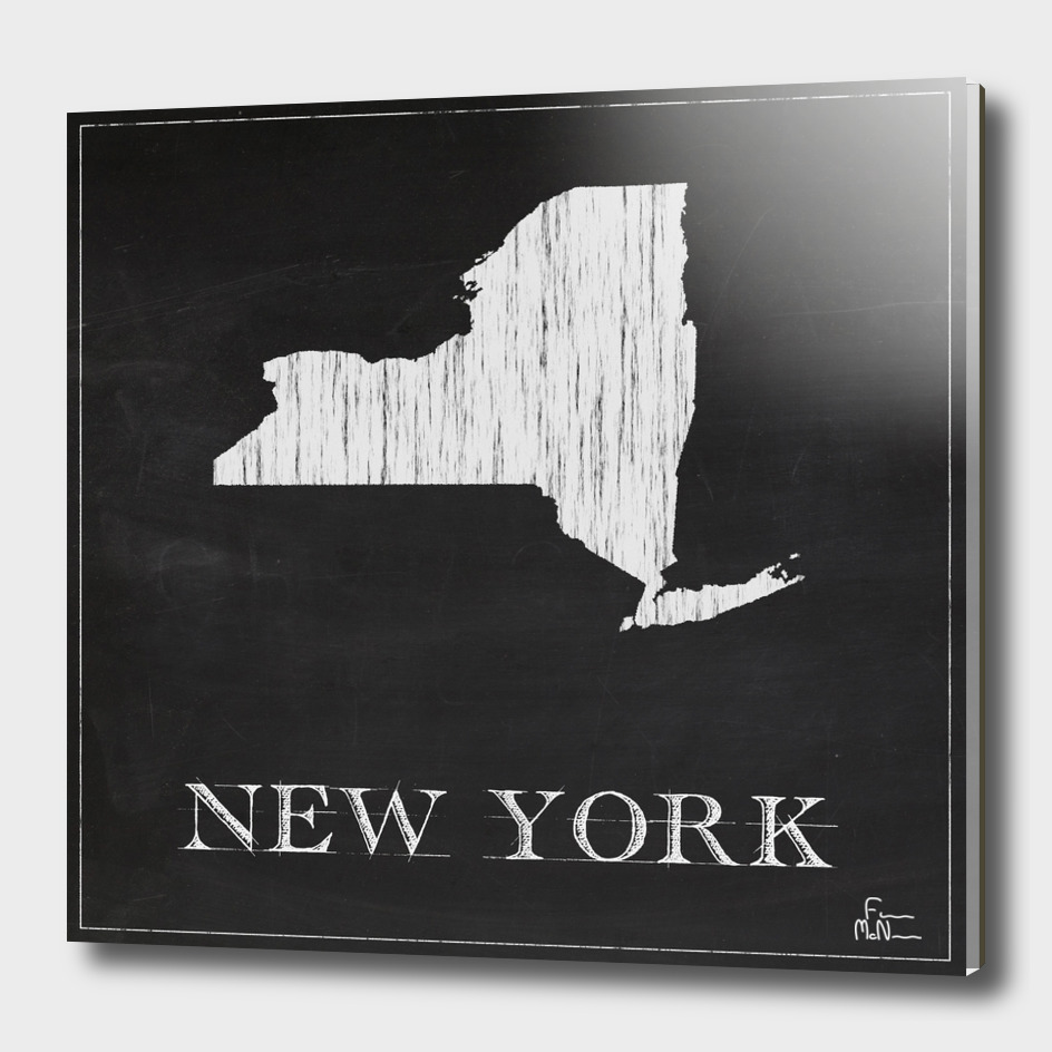 New York - Chalk