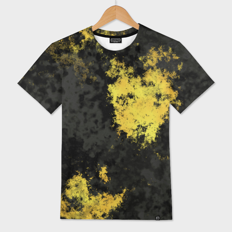 Yellow and Charcoal