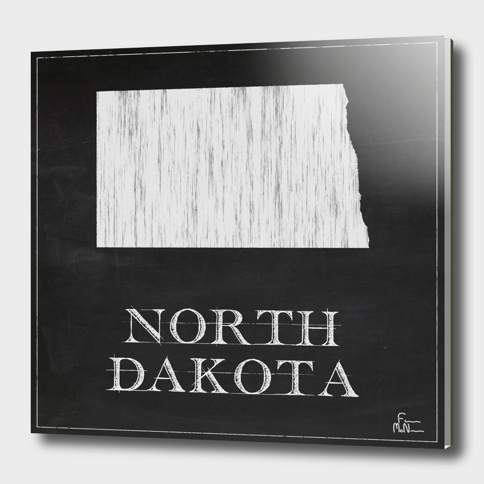 North Dakota - Chalk