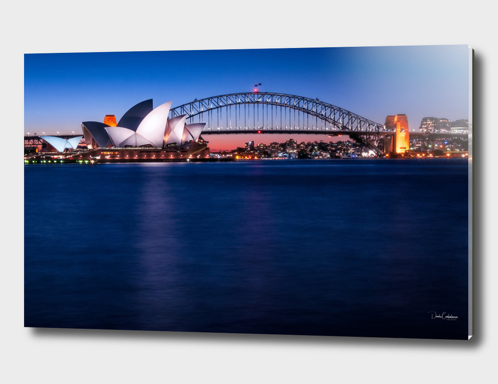 Postcard of Sydney Waterfront