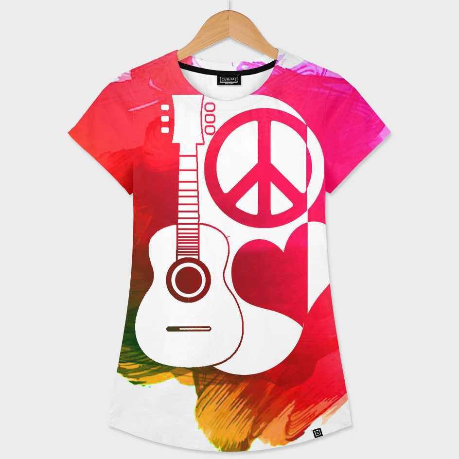 love, peace and music