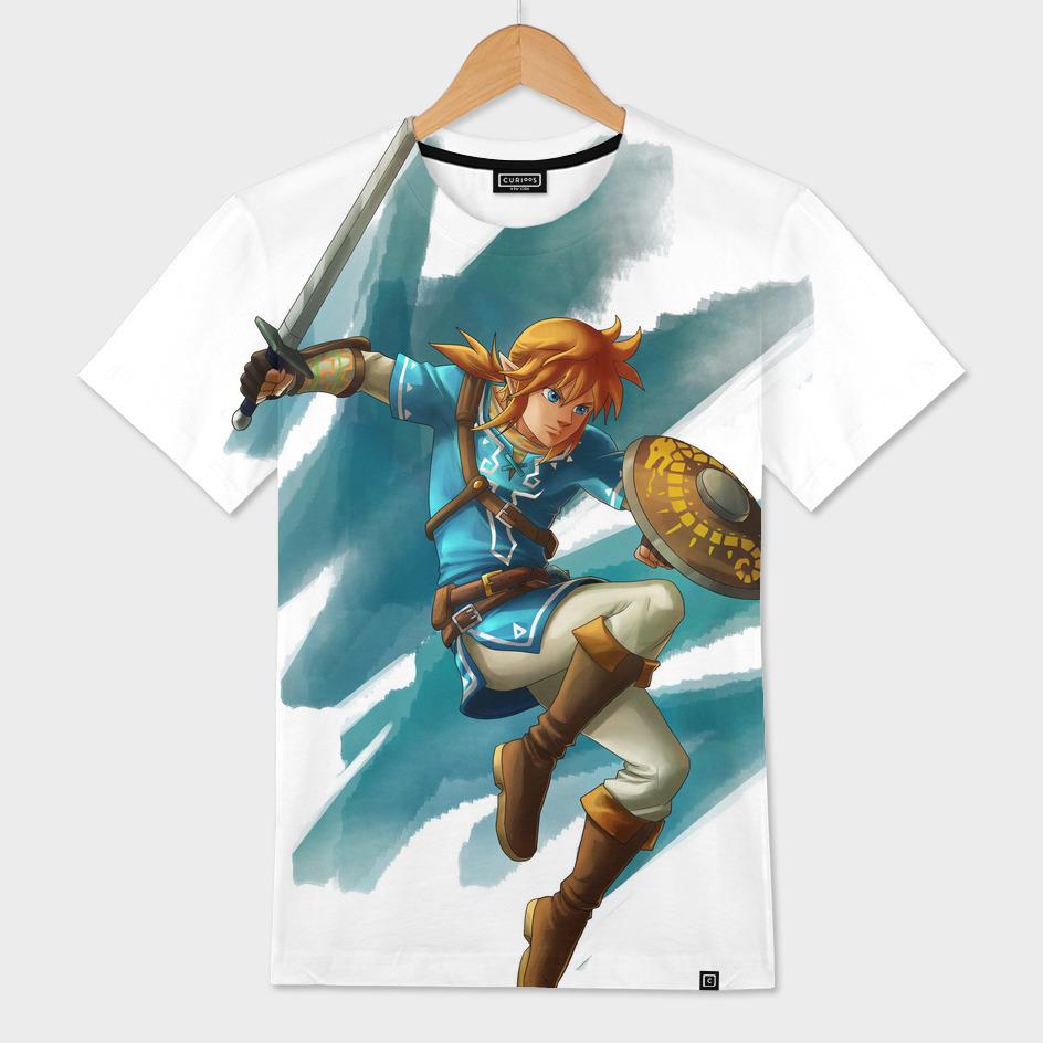 Link (The legend of Zelda Breath of the wild)