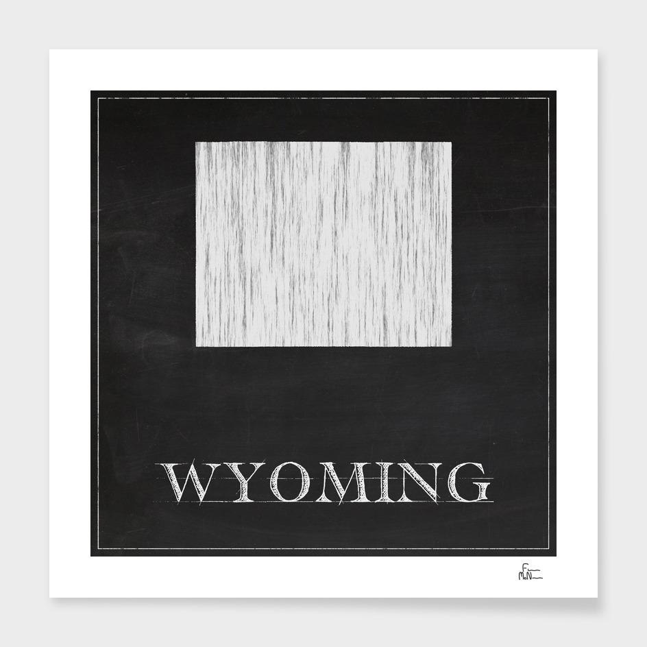 Wyoming - Chalk