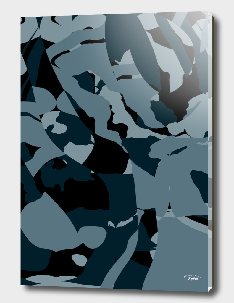 Prussian Blue abstract
